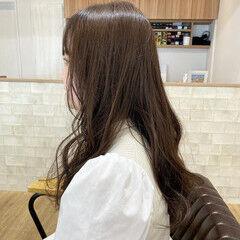 ヌーディベージュ ナチュラル ナチュラルベージュ ブラウンベージュ ヘアスタイルや髪型の写真・画像