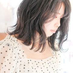 アッシュベージュ アッシュグレー ミントアッシュ ボブ ヘアスタイルや髪型の写真・画像
