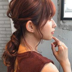 簡単ヘアアレンジ 結婚式ヘアアレンジ ゆるふわセット ヘアセット ヘアスタイルや髪型の写真・画像