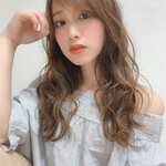 ロング フェミニン モテ髪 大人かわいい