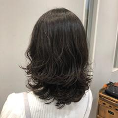 大人かわいい デジタルパーマ ナチュラル おしゃれ ヘアスタイルや髪型の写真・画像