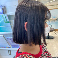 韓国ヘア ボブ ショートボブ ワンカール ヘアスタイルや髪型の写真・画像