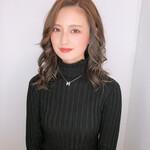 バレイヤージュ 髪質改善カラー エレガント 髪質改善トリートメント