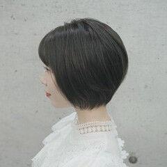 女子力 ナチュラル ショートヘア ベリーショート ヘアスタイルや髪型の写真・画像