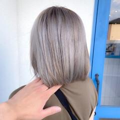 艶カラー うる艶カラー モード 透明感カラー ヘアスタイルや髪型の写真・画像