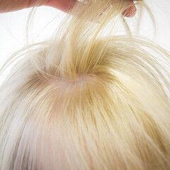 プラチナブロンド ブロンド ハイトーンカラー ショート ヘアスタイルや髪型の写真・画像