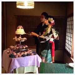 セミロング ブライダル ヘアアレンジ 花嫁 ヘアスタイルや髪型の写真・画像
