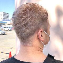 ストリート ショート イルミナカラー ダブルカラー ヘアスタイルや髪型の写真・画像