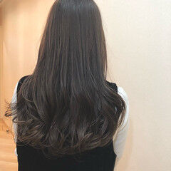外国人風カラー ミルクティーベージュ ベージュ イルミナカラー ヘアスタイルや髪型の写真・画像