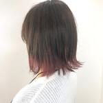 イルミナカラー ボブ 裾カラー 艶カラー