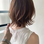 フェミニン 前髪あり アンニュイほつれヘア レイヤーカット