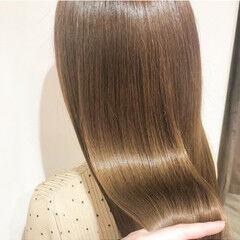髪質改善カラー 髪質改善 髪質改善トリートメント サラサラ ヘアスタイルや髪型の写真・画像