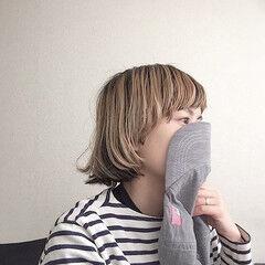 前髪あり マッシュウルフ マッシュショート パーマ ヘアスタイルや髪型の写真・画像