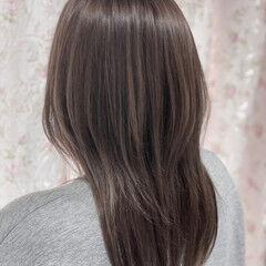 フェミニン ロング 3Dハイライト ロングヘアスタイル ヘアスタイルや髪型の写真・画像