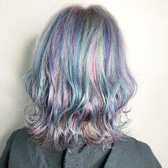 透明感 トレンド ミディアム 外国人風カラー ヘアスタイルや髪型の写真・画像