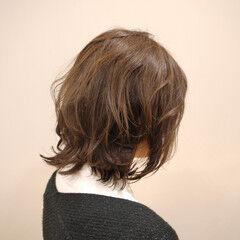 アンニュイほつれヘア レイヤーカット ミディアム ヘアアレンジ ヘアスタイルや髪型の写真・画像