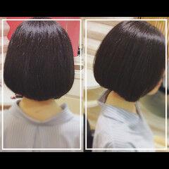 艶髪 髪質改善 オフィス 大人ヘアスタイル ヘアスタイルや髪型の写真・画像