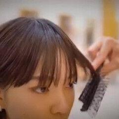 ショートヘア 銀座美容室 ナチュラル ショートボブ ヘアスタイルや髪型の写真・画像