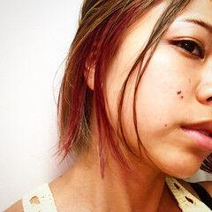 撮影 ストリート 外国人風カラー ショート ヘアスタイルや髪型の写真・画像