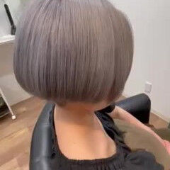ハンサムショート 刈り上げ女子 ブリーチ ストリート ヘアスタイルや髪型の写真・画像