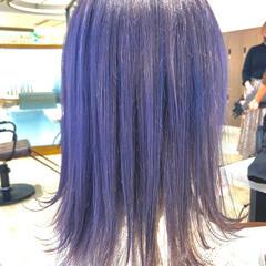 ラベンダー フェミニン ラベンダーグレージュ ラベンダーアッシュ ヘアスタイルや髪型の写真・画像