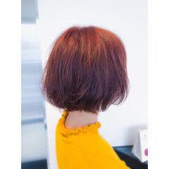 刈り上げ女子 刈り上げ モード ミニボブ ヘアスタイルや髪型の写真・画像