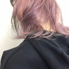 ストリート パステルカラー ピンク かわいい ヘアスタイルや髪型の写真・画像