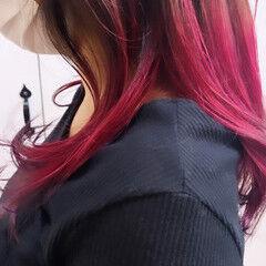 ヘアカラー ブリーチカラー ダブルカラー ストリート ヘアスタイルや髪型の写真・画像
