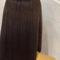 ナチュラル ロング 髪質改善カラー まとまり ヘアスタイルや髪型の写真・画像