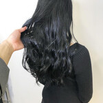 暗髪 ダークアッシュ ナチュラル 透明感カラー