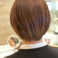 ショートボブ ミニボブ 圧倒的透明感 フェミニン ヘアスタイルや髪型の写真・画像