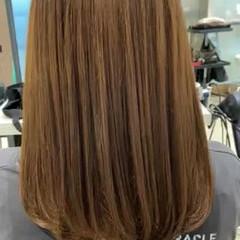 ナチュラル 髪質改善トリートメント セミロング トリートメント ヘアスタイルや髪型の写真・画像