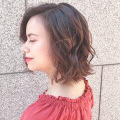 大人ヘアスタイル こなれ感 ゆるふわ 大人かわいい ヘアスタイルや髪型の写真・画像