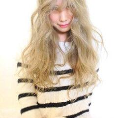 ロング ブリーチ エレガント 上品 ヘアスタイルや髪型の写真・画像