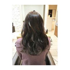 カール 外国人風カラー エレガント 上品 ヘアスタイルや髪型の写真・画像