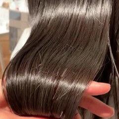 髪質改善 ツヤ髪 艶髪 最新トリートメント ヘアスタイルや髪型の写真・画像