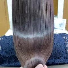 イルミナカラー ナチュラル ロング 髪質改善トリートメント ヘアスタイルや髪型の写真・画像