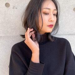 韓国 韓国風ヘアー ウルフカット オルチャン ヘアスタイルや髪型の写真・画像