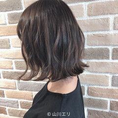 トーンダウン 透明感カラー ヘアオイル ゆるふわ ヘアスタイルや髪型の写真・画像
