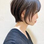 黒髪 ショートボブ ショート ショートヘア