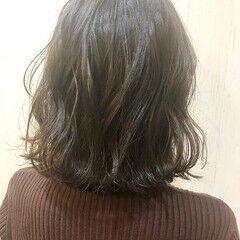 大人ミディアム 大人ヘアスタイル 黒髪 ナチュラル ヘアスタイルや髪型の写真・画像