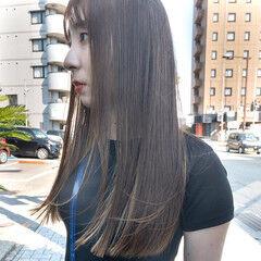 ロング ストリート ブリーチオンカラー ブリーチカラー ヘアスタイルや髪型の写真・画像