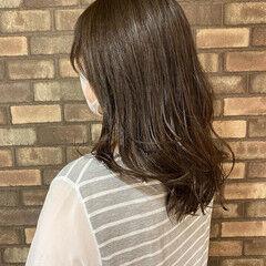 アディクシーカラー 大人ミディアム ミディアム 艶髪 ヘアスタイルや髪型の写真・画像