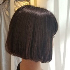 ショート 女子力 ボブ ナチュラル ヘアスタイルや髪型の写真・画像