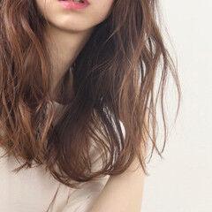 ゆる巻き ロング ゆるウェーブ ゆるふわセット ヘアスタイルや髪型の写真・画像