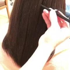 ナチュラル 髪質改善 透明感カラー 髪質改善カラー ヘアスタイルや髪型の写真・画像