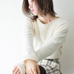 フェミニン デート ボブ 撮影 ヘアスタイルや髪型の写真・画像