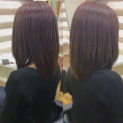 艶髪 髪質改善 ロング ナチュラル ヘアスタイルや髪型の写真・画像