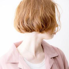 デジタルパーマ ショートボブ 無造作パーマ ボブ ヘアスタイルや髪型の写真・画像
