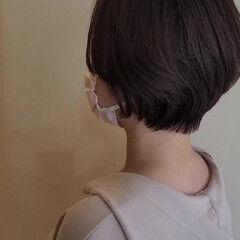 ハンサムショート ナチュラル 小顔ショート ショート ヘアスタイルや髪型の写真・画像